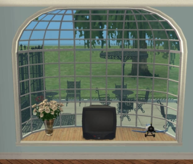 Mod the sims extendable la fen tre bay window for Windows fenetre