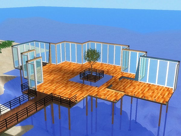 Mod the sims the lake house for The lake housse