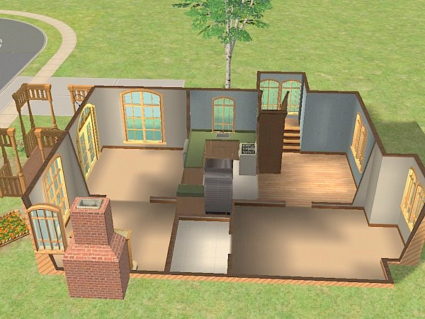 Mod The Sims Rustic Ridge 15 Perfect Family Home