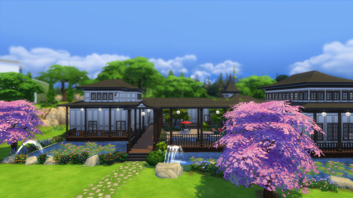 Mod The Sims - Sakura\'s Inn & Spa