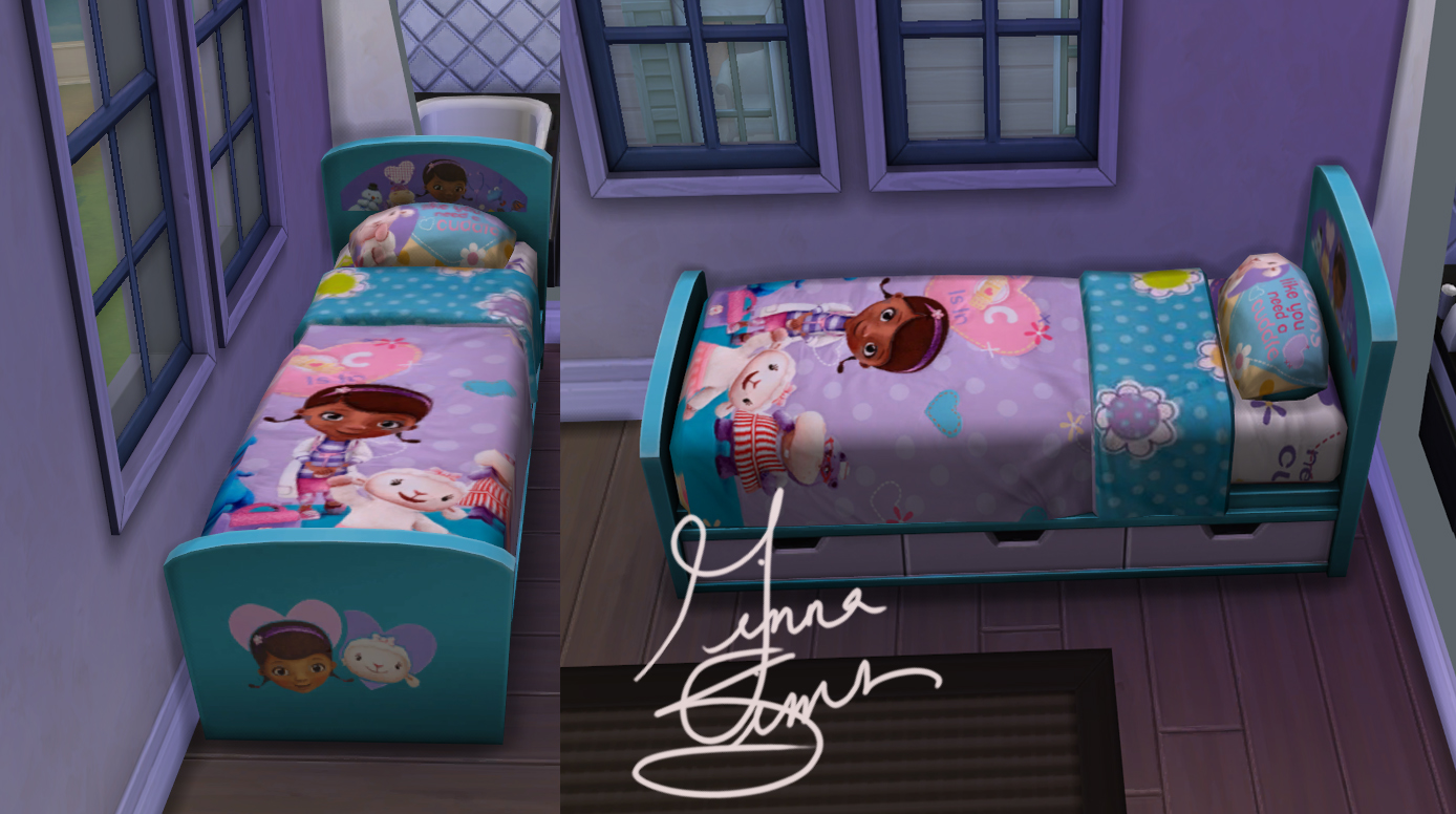 Mod The Sims Doc Mcstuffins Children S Bed