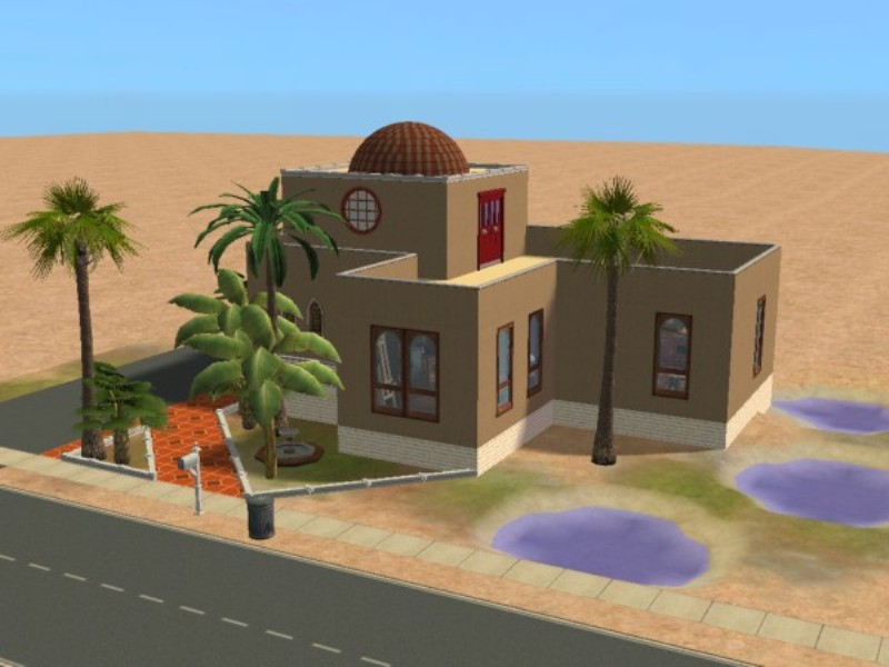 Mod The Sims Middle Eastern Style House No Cc Requested