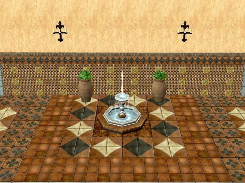 Mod The Sims - Terracotta Floor Tiles