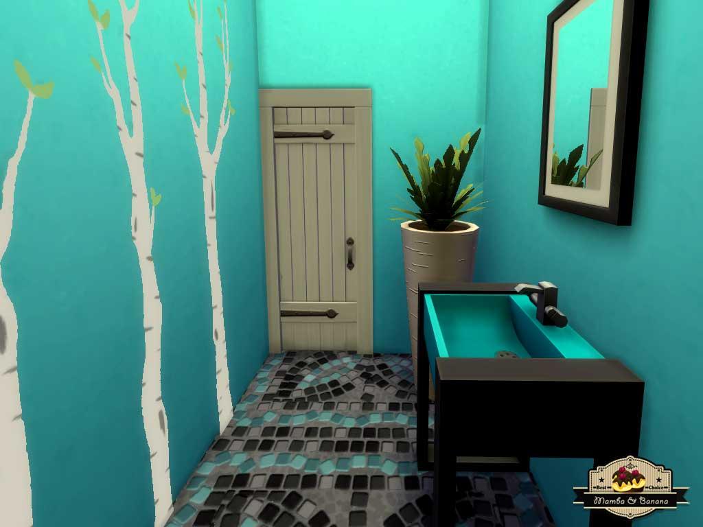 Mod The Sims - Banana\'s Vet Clinic (No CC)