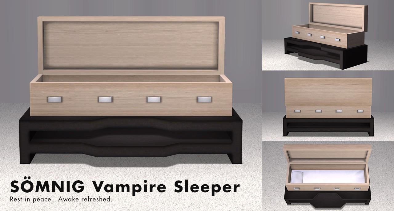 Mod The Sims - SÖMNIG Vampire Sleep Set