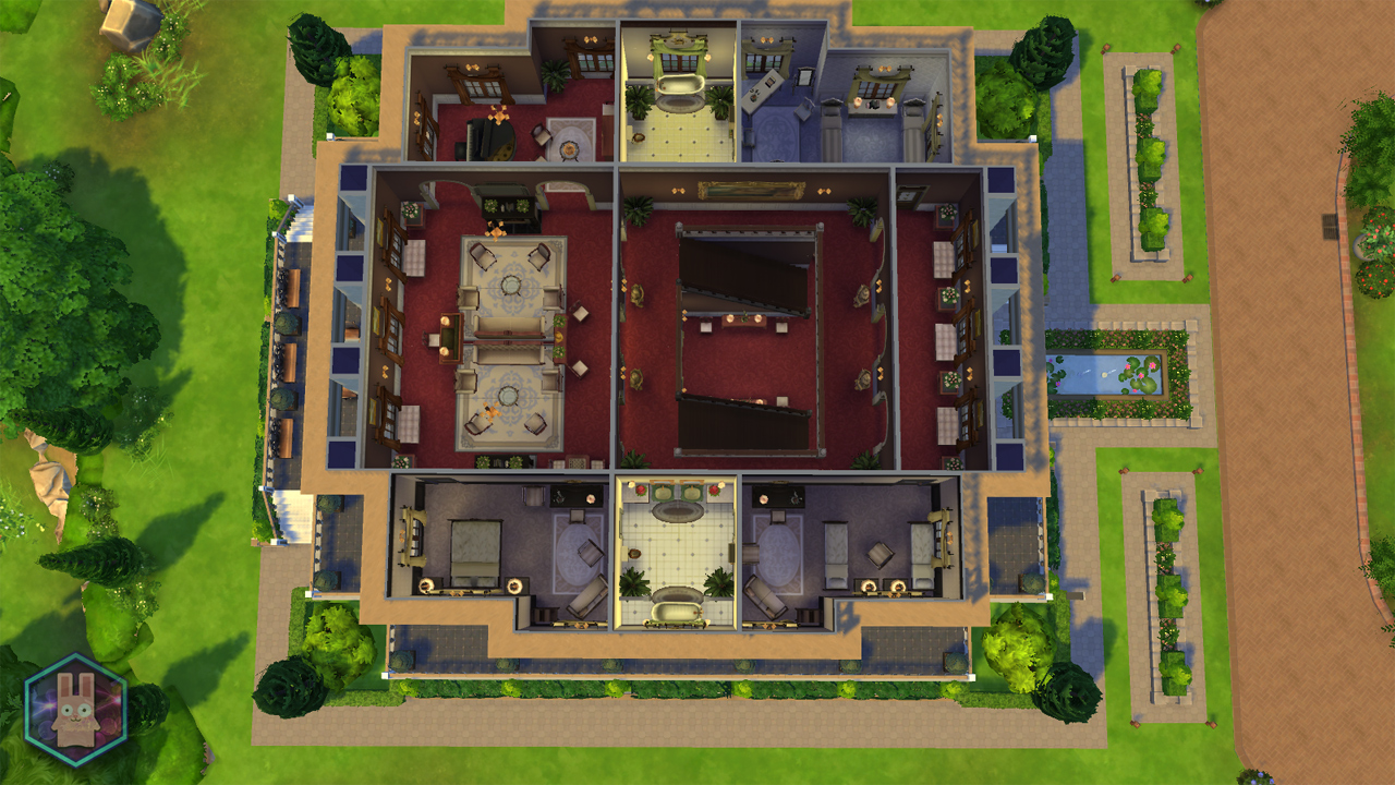 Mod The Sims Petit Trianon Palace A Royal Romance NO CC