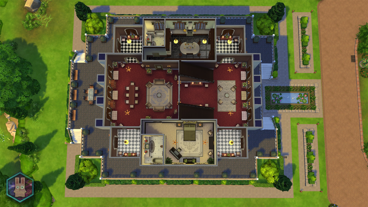 533948 on Sims 3 Mansion Floor Plan Houses