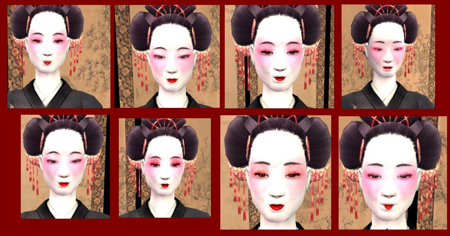 the sims 2 hair and makeup s