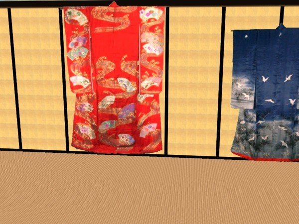 Mod The Sims - Hang You kimono on the wall!