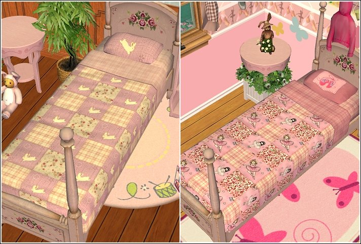 Mod The Sims - A bundle of quilts