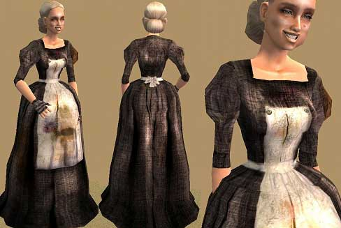 Mod The Sims Seven Dials Dickens London Old Ettie Dresses