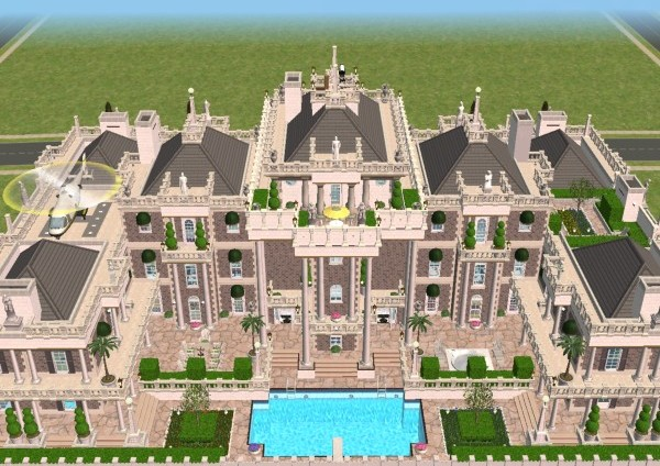 Mod the sims the millionaire 39 s palace for Classic house sims 3