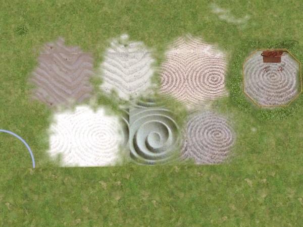 Mod The Sims - Zen Garden Sand Terrains