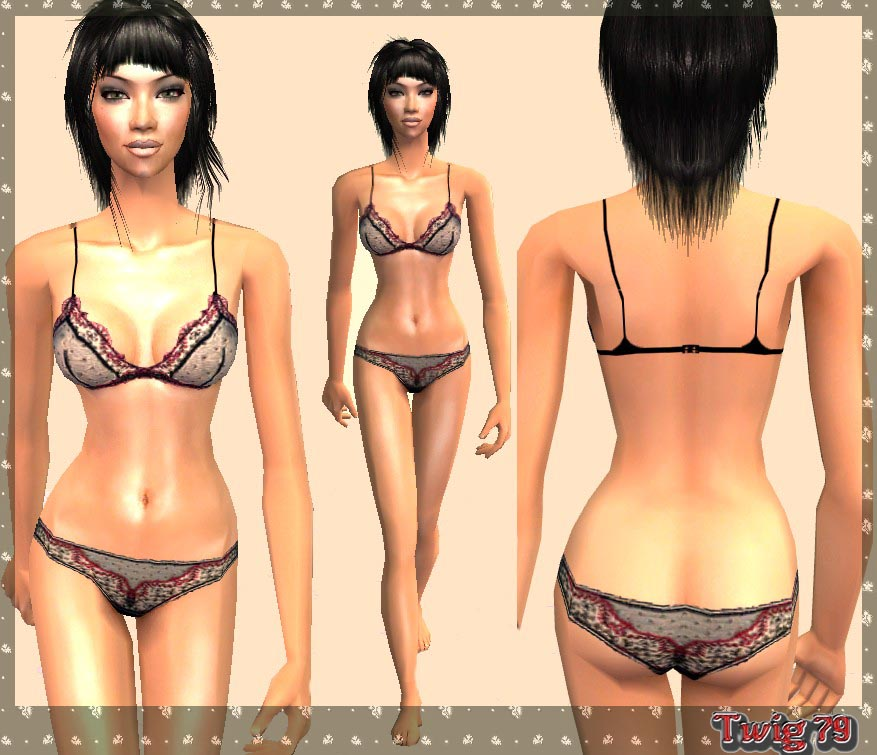 Mod The Sims - French Lingerie (set of 4 outfits) 47db5e97b