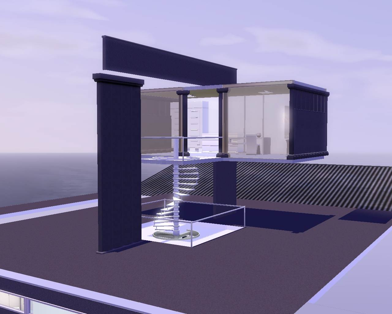 mod the sims oblivion sky tower