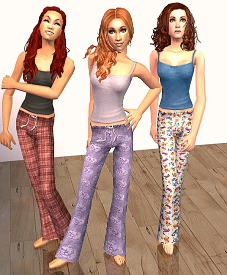 Mod The Sims - Pajama Party Madness- Adults