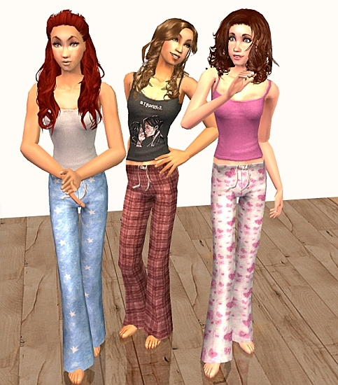 Mod The Sims - Pajama Party Madness- Teens Upadted 12/01/07