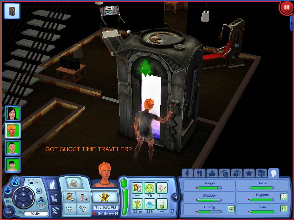 Sims  Time Travel Mod