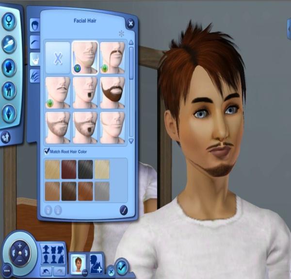 Mod The Sims Facial Hair For Women Sims 3 Showtime 3