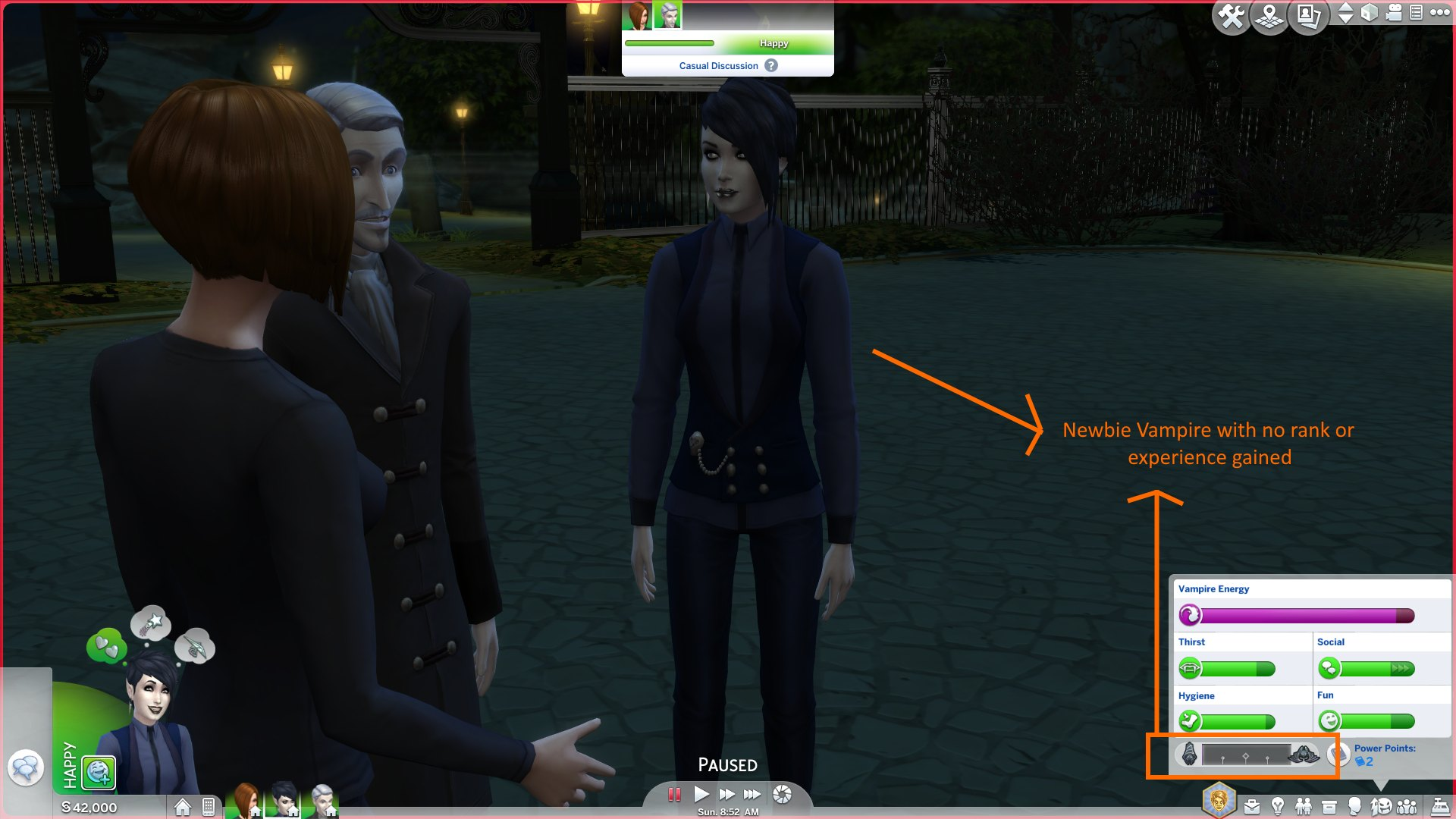 Mod The Sims - Vampire XP Gain Mods - Two Types of Mods