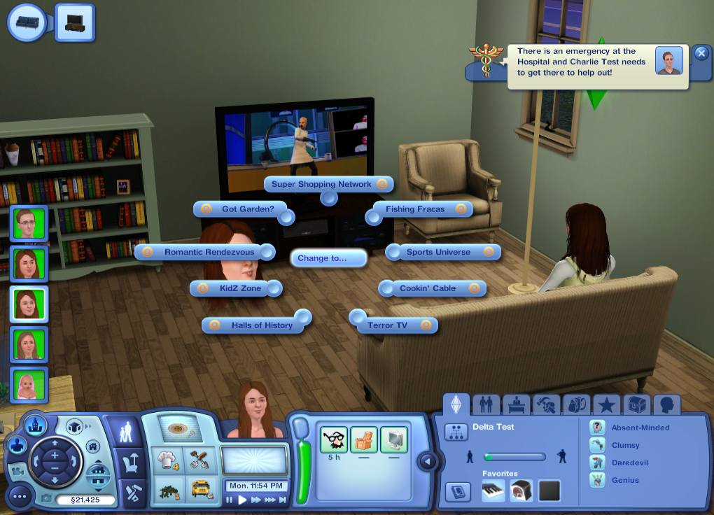 Mod The Sims Unlocked Tv Channels Mods Sims 3 Seasons
