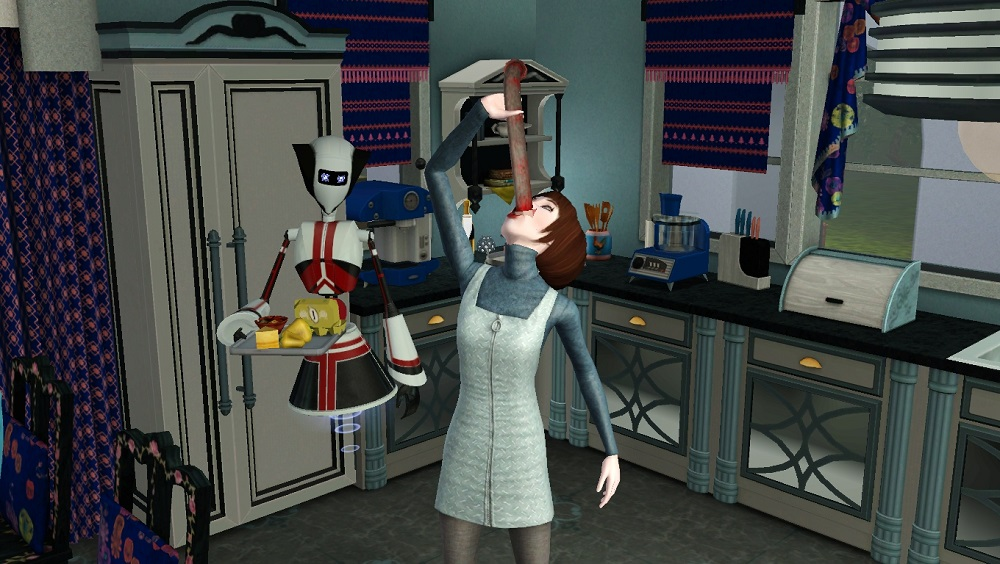 Mod The Sims - Simbot Hunger Changes