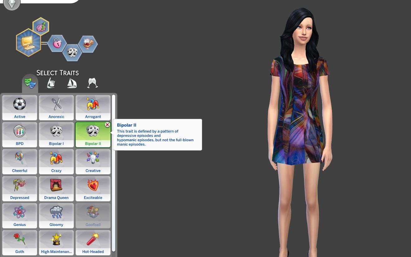 Mod The Sims - Bipolar Trait