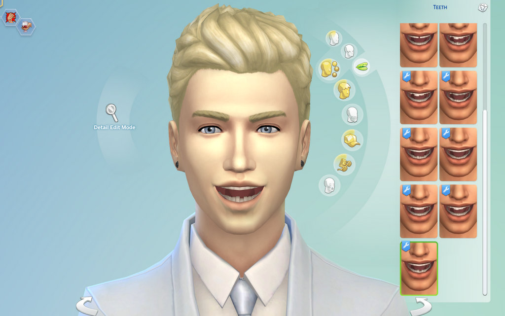 Mod The Sims - Imperfect Teeth