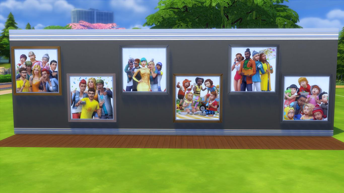 Коллекция картин The Sims 4