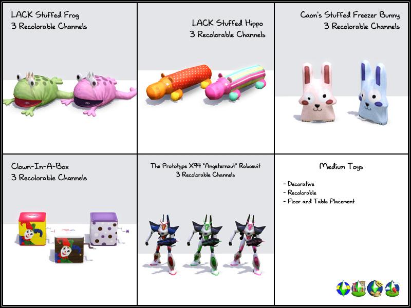Mod The Sims Ts2 Gt Ts3 Toys Toys Toys