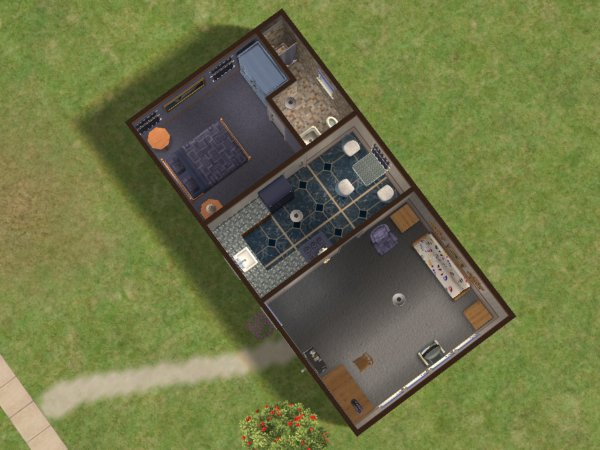 Mod The Sims - One Bedroom Trailer house (4th in the Series)