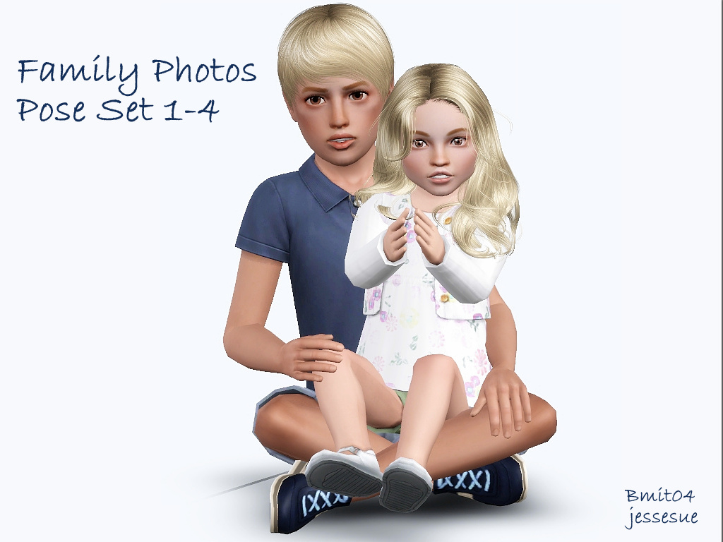 Non traditional family poses set 1 4
