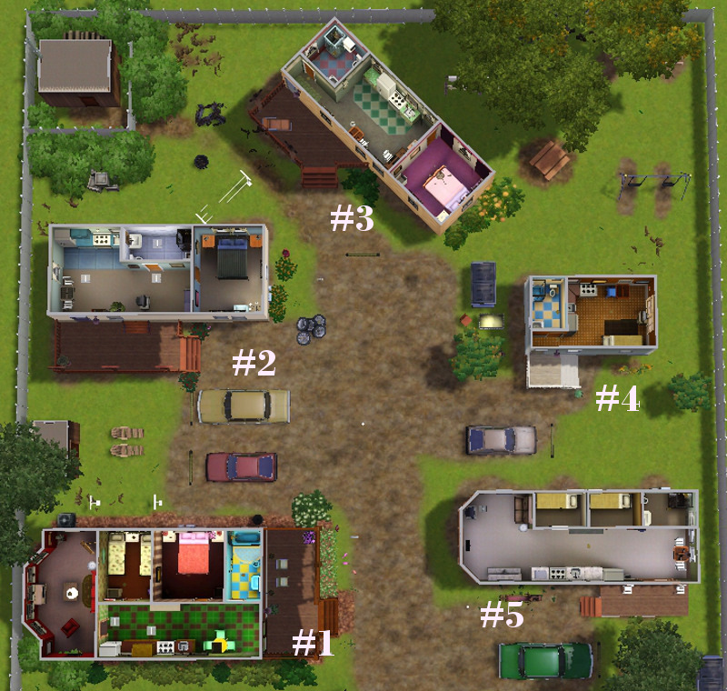 Mod the sims mobile mansions court cc free - Sims 2 downloads mobel ...