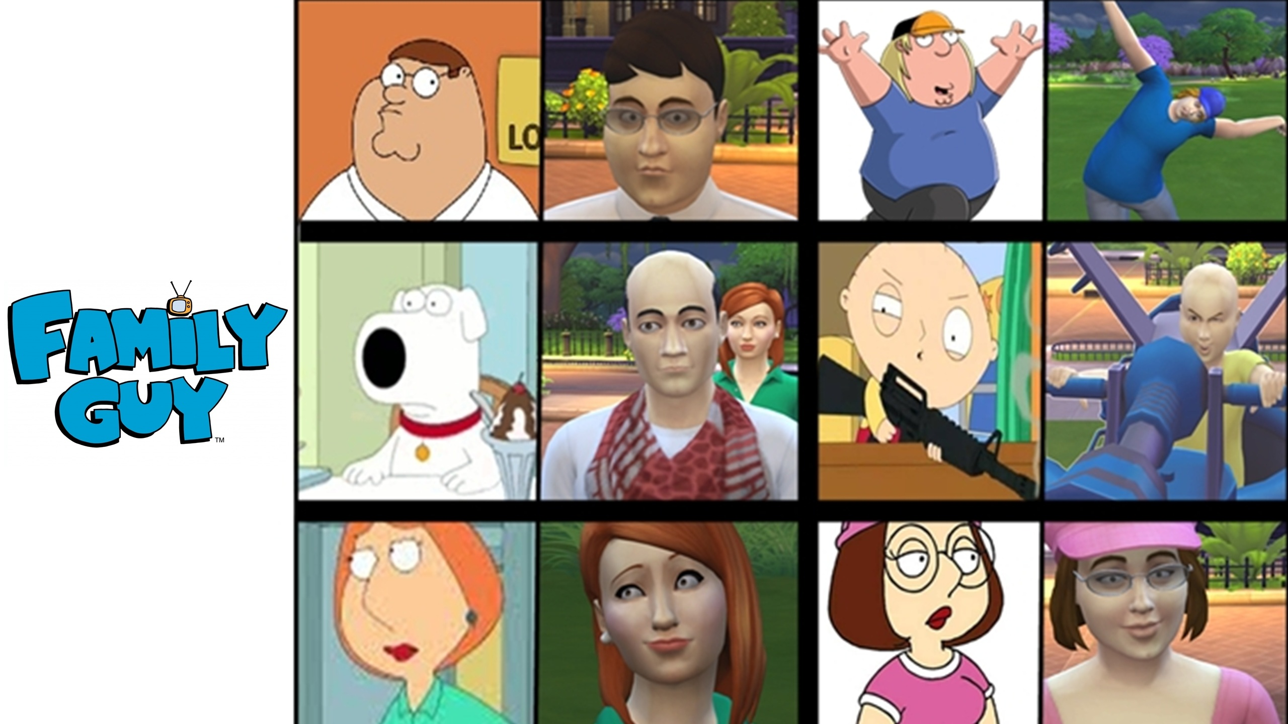 Sims 3 Cartoon Characters : Mod the sims family guy