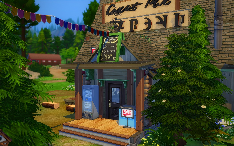 mod the sims mystery shack