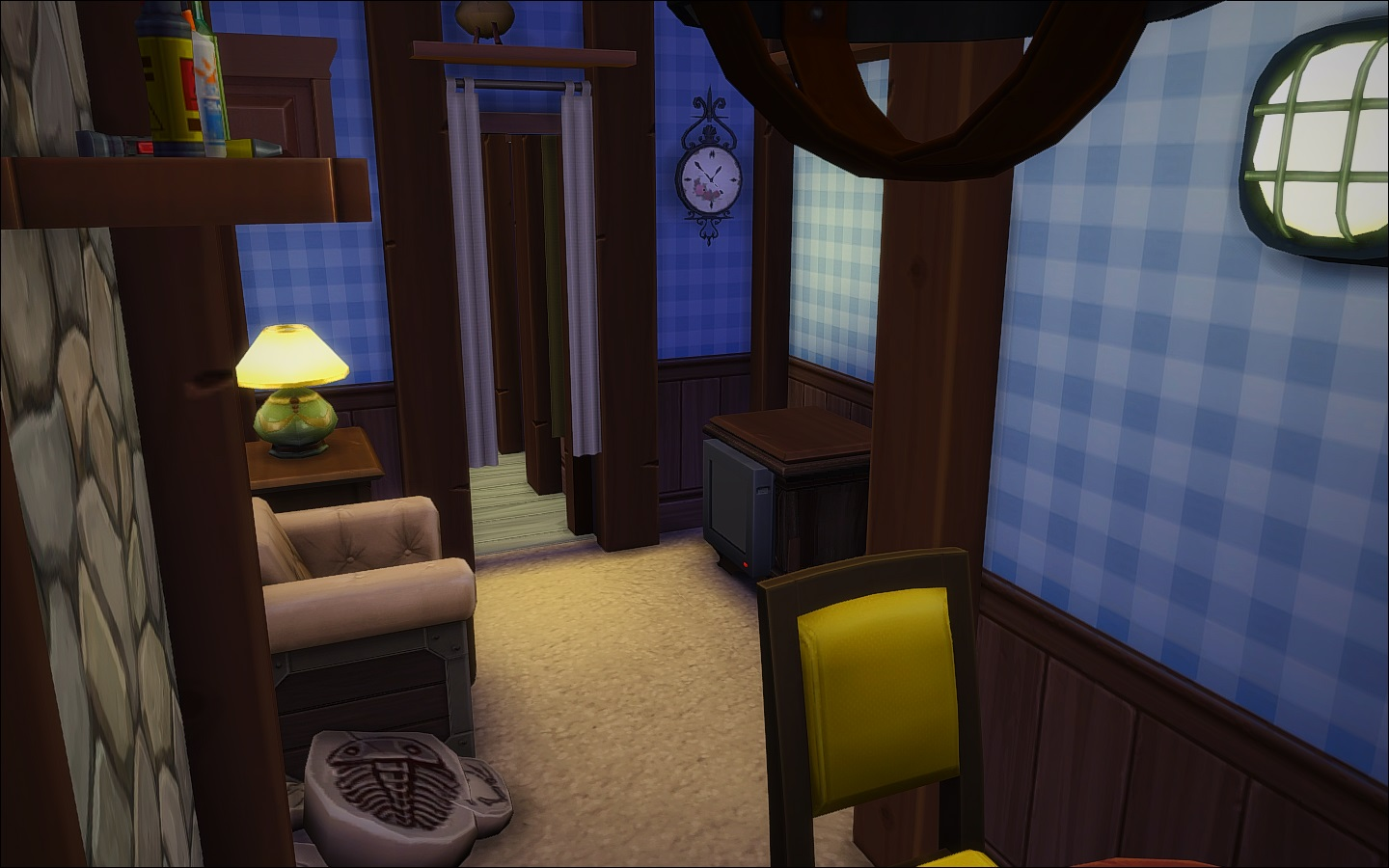 mod the sims mystery shack. Black Bedroom Furniture Sets. Home Design Ideas