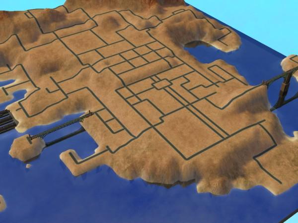 Mod The Sims - Bridgeport Neighborhood Terrain