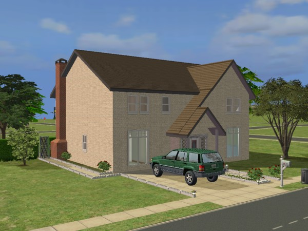 Mod the sims family homes viii the brookside for Family home builders