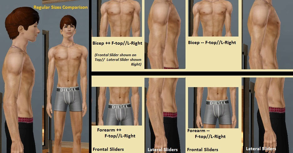 Mod The Sims - [Update] Sims Body Essentials: A Complete Set of Body