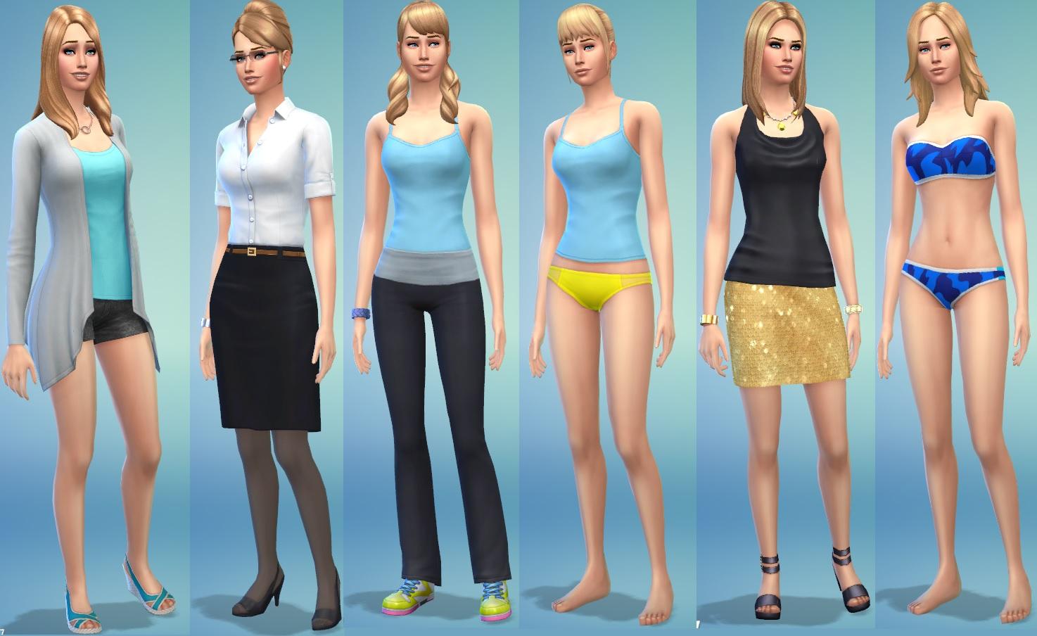 Mod The Sims Astrid Hallstr 246 M No Cc