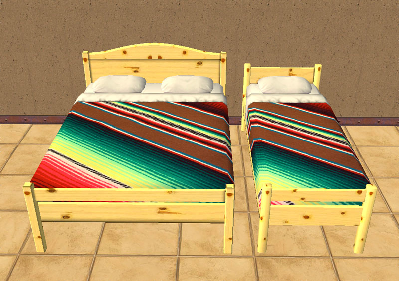Mod The Sims Mexican Bed Covers