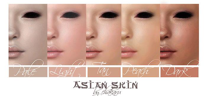 Asian pics of different skin color, brunnette gives hot boob job