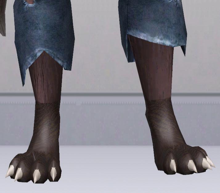 u041au0430u0442u0430u043bu043eu0433 u0444u0430u0439u043bu043eu0432 u0421u0438u043cu0441 3. u041eu0431u0443u0432u044c u0434u043bu044f Sims 3. Wolf Feet by Camkitty.