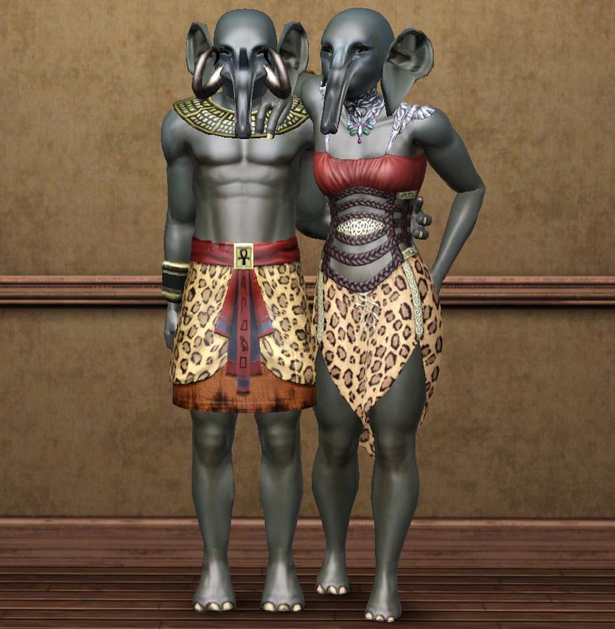 Elephants(Sims 3)