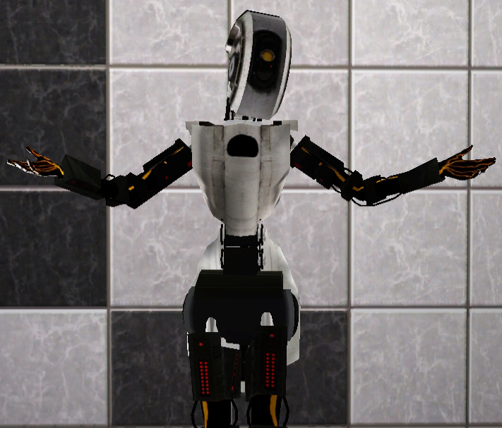Mod The Sims Glados From Portal 2