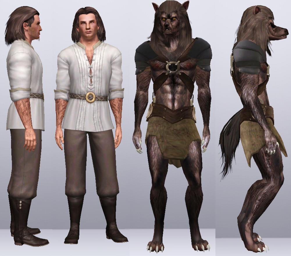 sims 4 werewolf