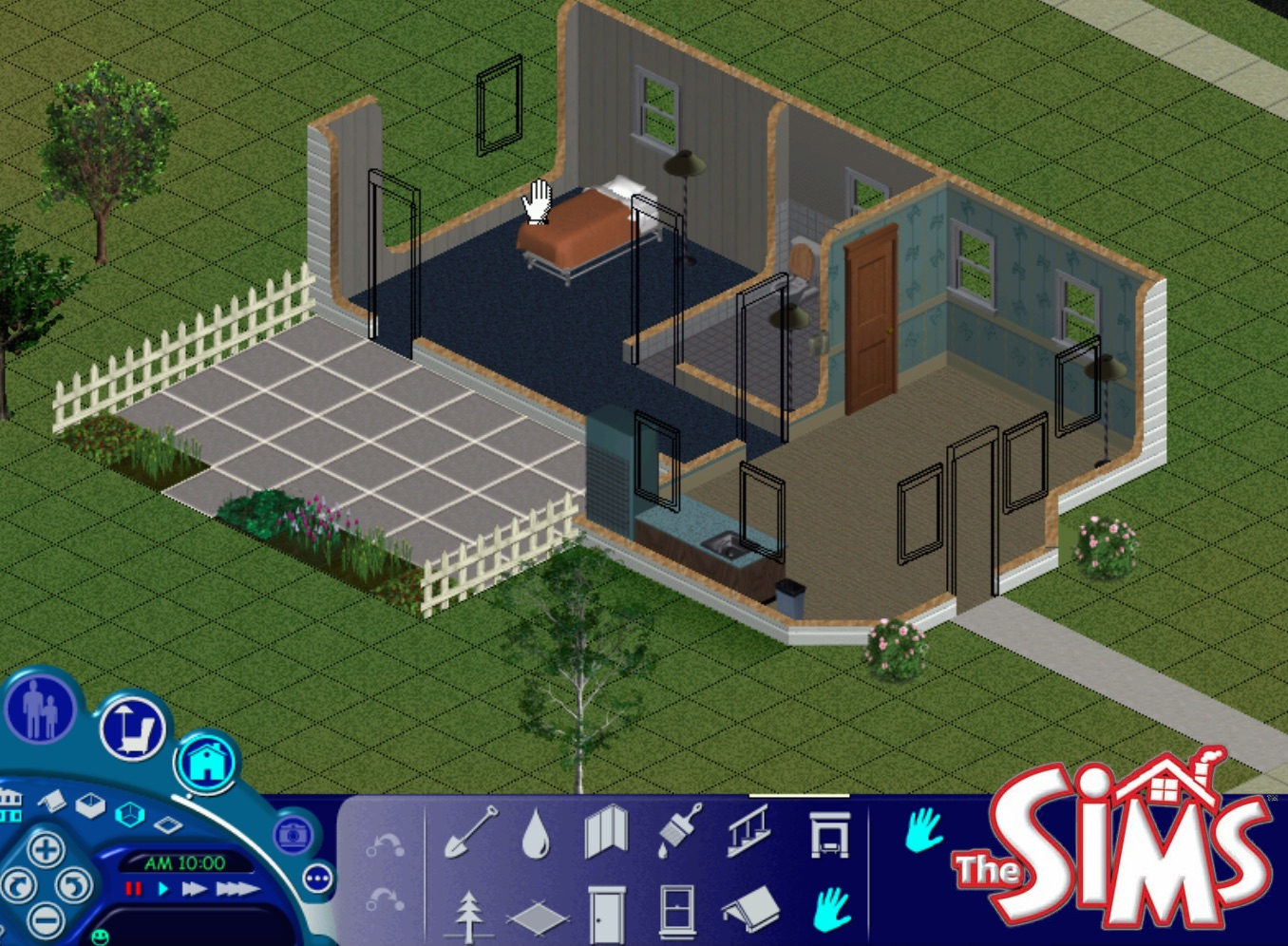 mod the sims sims 1 4 6 sim lane starter. Black Bedroom Furniture Sets. Home Design Ideas