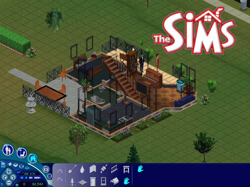 mod the sims sims 1 4 the goth house 5 sim lane. Black Bedroom Furniture Sets. Home Design Ideas