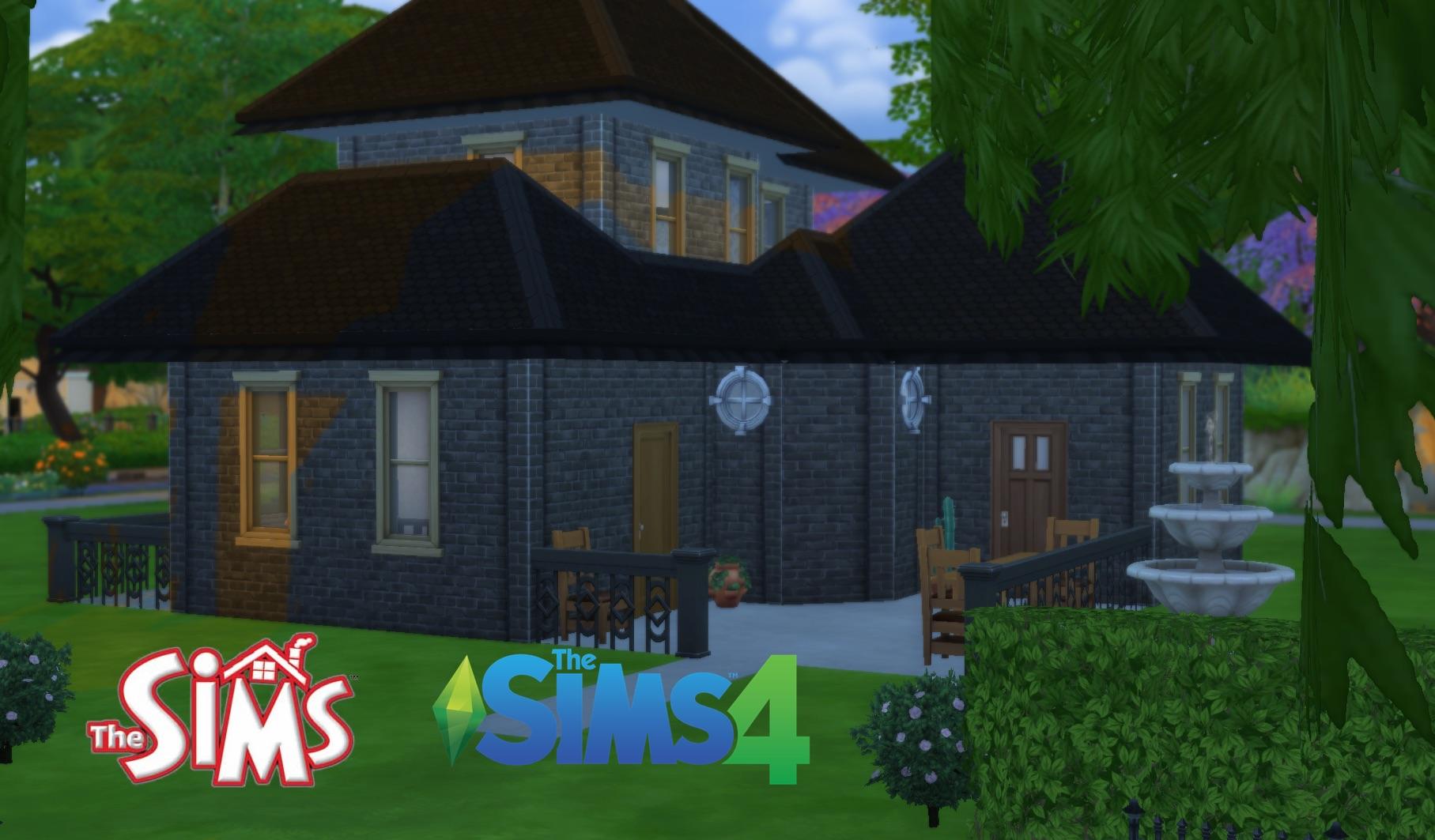 Mod the sims sims 14 the goth house 5 sim lane x malvernweather Gallery