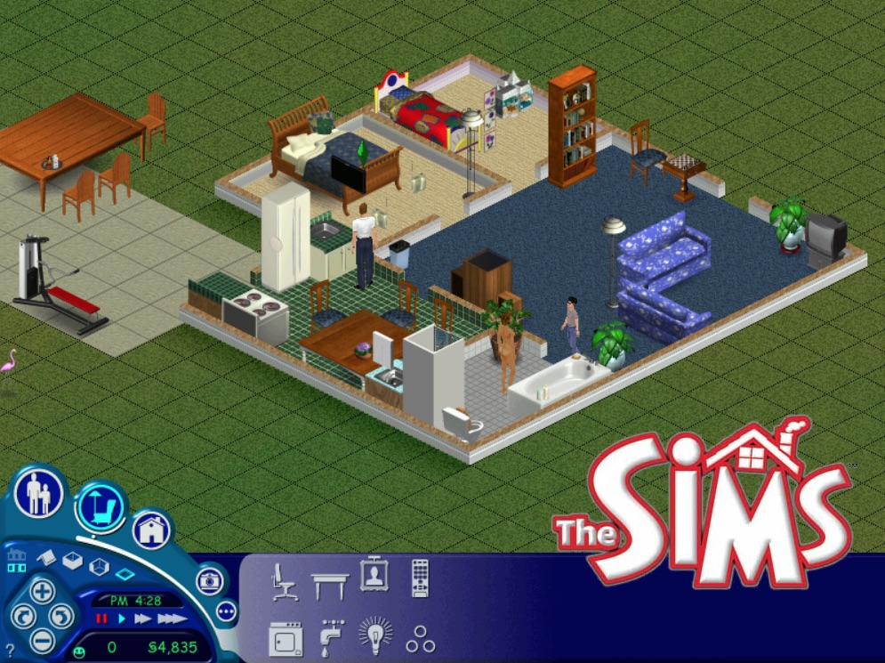 mod the sims sims 1 4 the jones house 1 sim lane. Black Bedroom Furniture Sets. Home Design Ideas